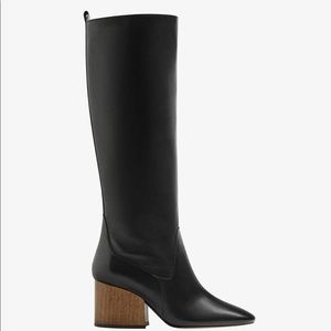 Massimo Dutti leather boot